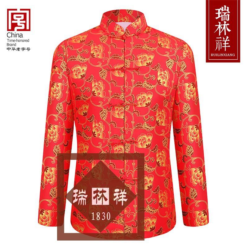 女式纯棉寿衣全套红4号