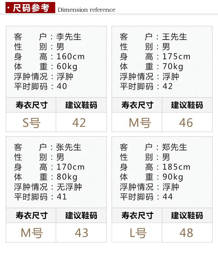 瑞林祥寿衣19号中山装4800套系_19