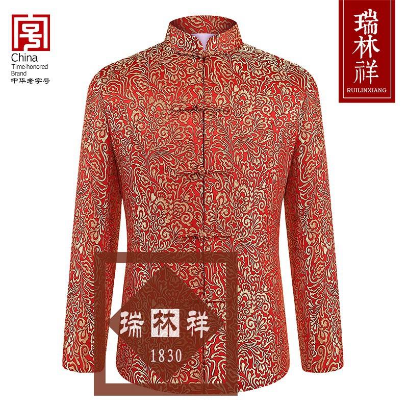 女式桑蚕丝寿衣全套红32号
