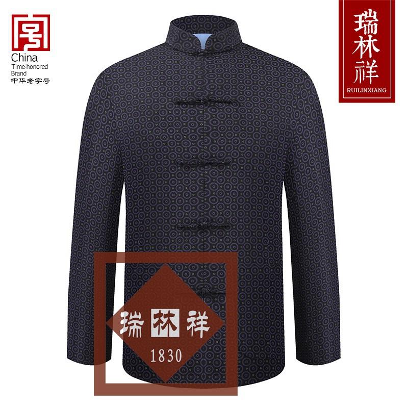 男式纯棉寿衣全套2号