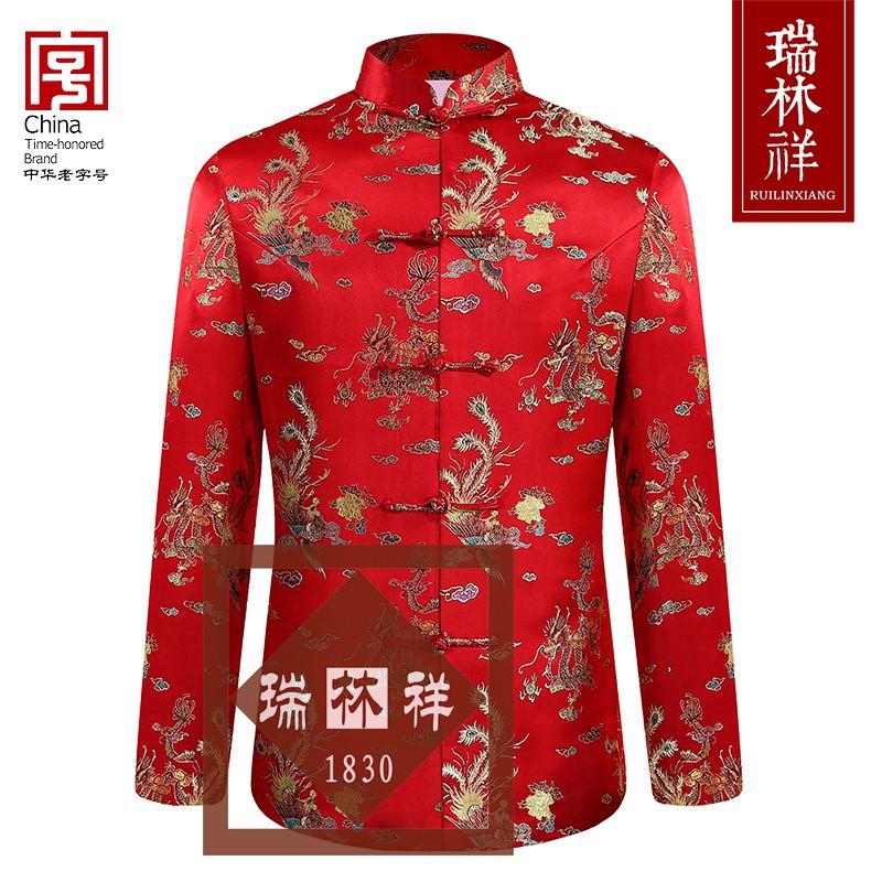 女式仿蚕丝寿衣全套红2号