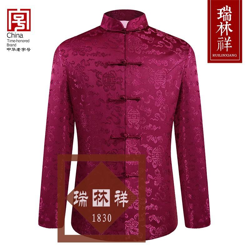 女式桑蚕丝寿衣全套紫1号