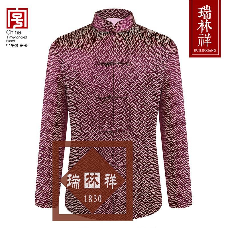 女式桑蚕丝寿衣全套紫11号