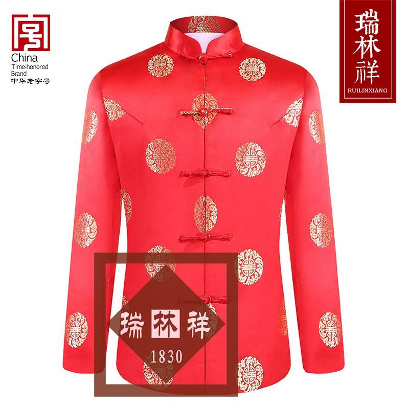 女式仿蚕丝寿衣全套红10号