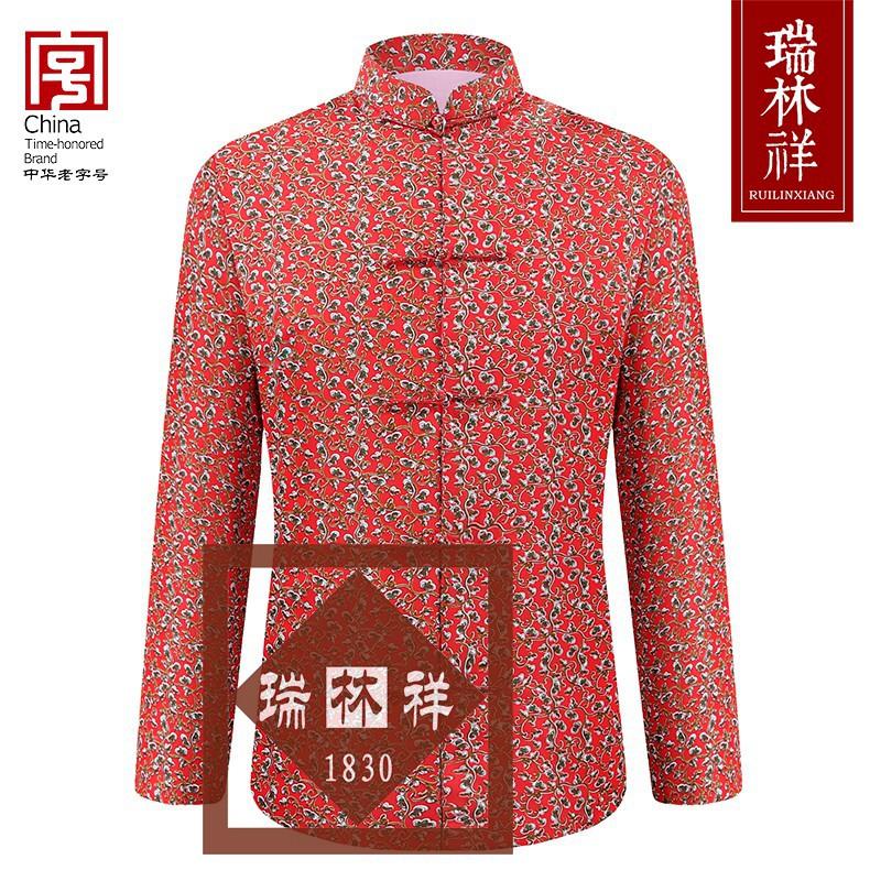 女式纯棉寿衣全套红3号